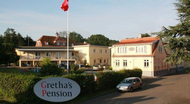 Hotel Grethas Pension Nygade 7 3770 Allinge Danmark Bornholm